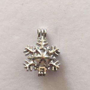 Jewelry - Snowflake cage